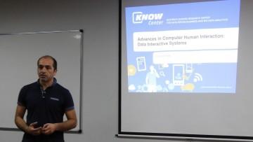 El Dr. Eduardo Veas brindó seminario sobre Sistemas de Interacción con Datos