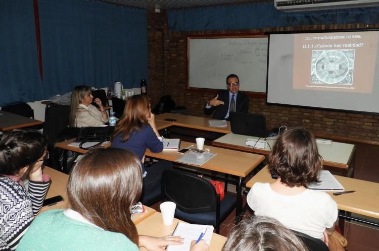 Se desarrolló workshop a cargo del Arquitecto Alban Martínez Gueyraud