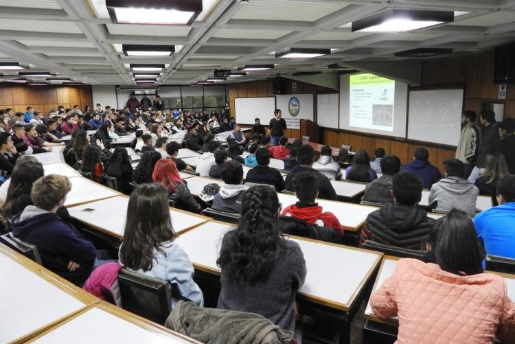 Se lleva a cabo la etapa de confrontación vocacional en la Facultad de Ingeniería