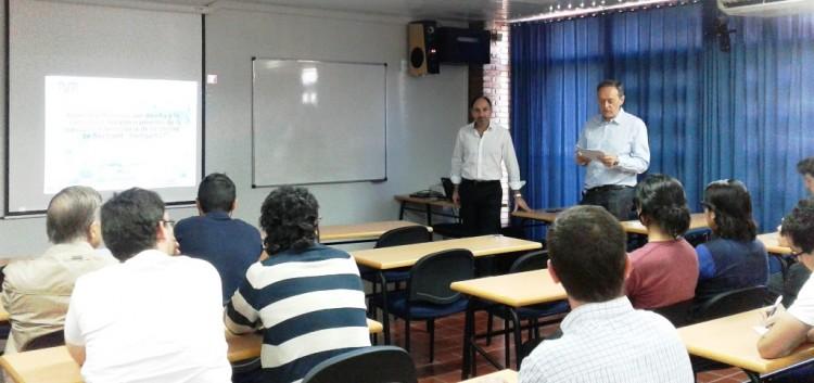 Profesor alemán visitó nuestra Facultad y brindó una Conferencia sobre Geotecnia