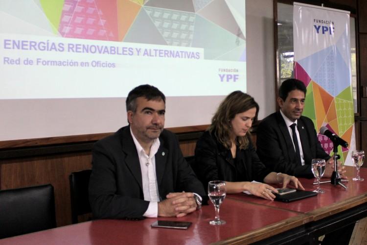 Presentaron el Programa de Formación de Formadores en Energías Renovables