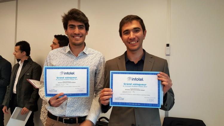 Estudiantes de nuestra Facultad fueron premiados en Francia