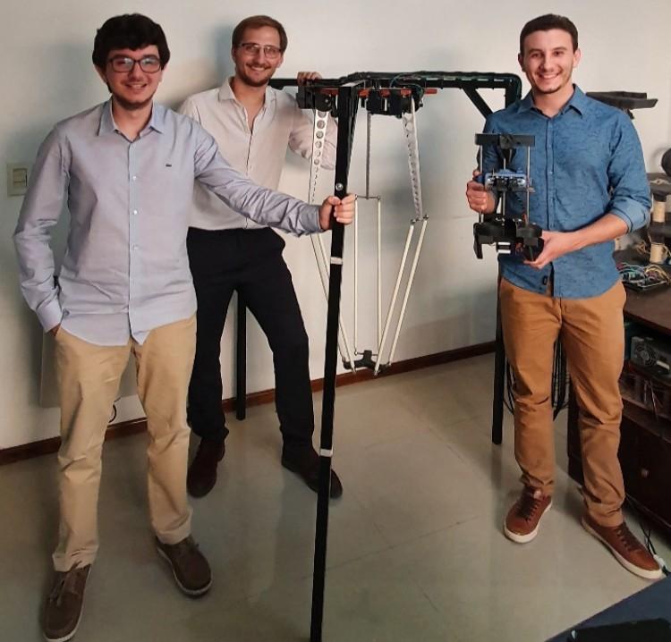 Presentaron proyecto de Robot Cosechador y Desbriznador de Azafrán