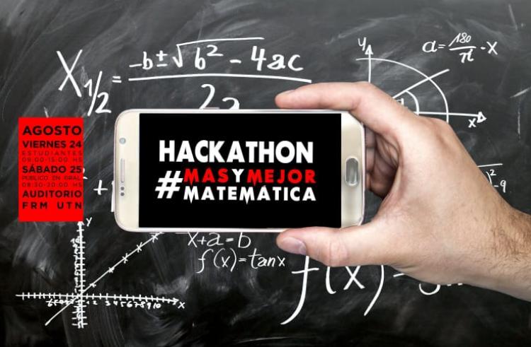Abiertas las inscripciones para la Hackathon #masymejormatematica