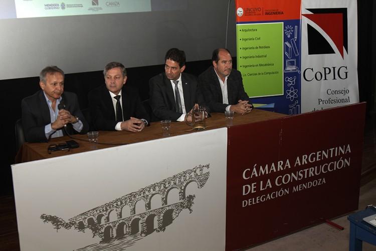 Se desarrolló la Segunda Jornada sobre la Problemática Aluvional de la provincia de Mendoza