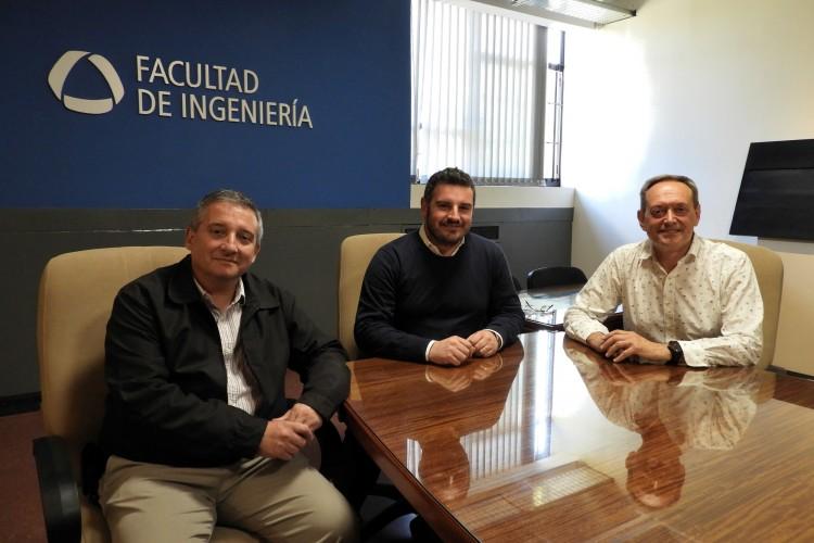 Especialista italiano en peligro sísmico visitó la Facultad
