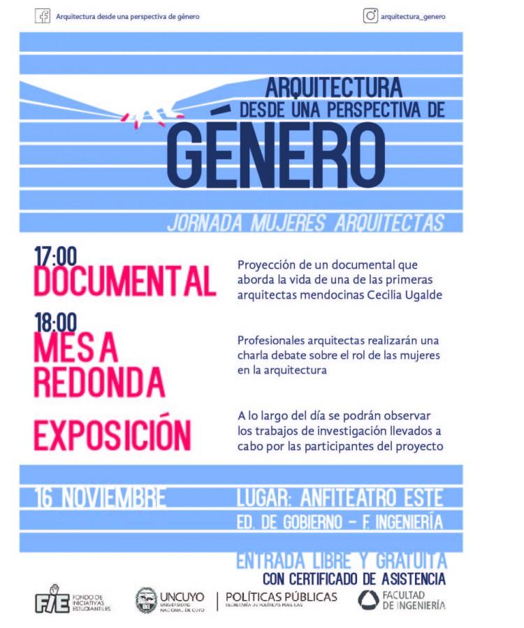 """Jornada """"Mujeres arquitectas en Mendoza"""""""