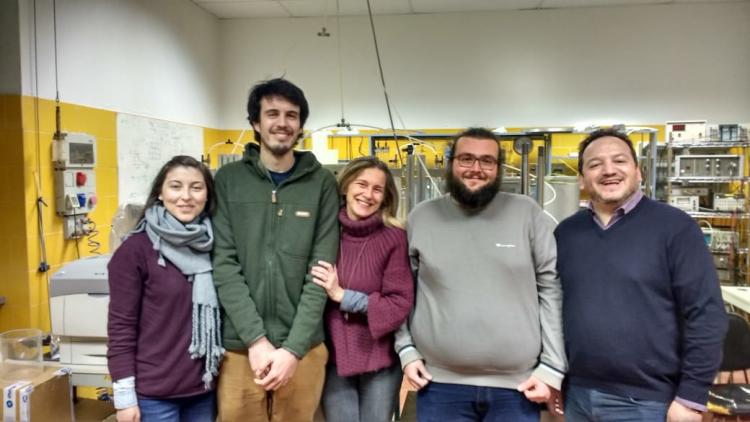 Estudiante realizó estancia de perfeccionamiento en Universidad de Italia