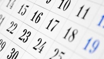 Calendario Académico y de exámenes 2020