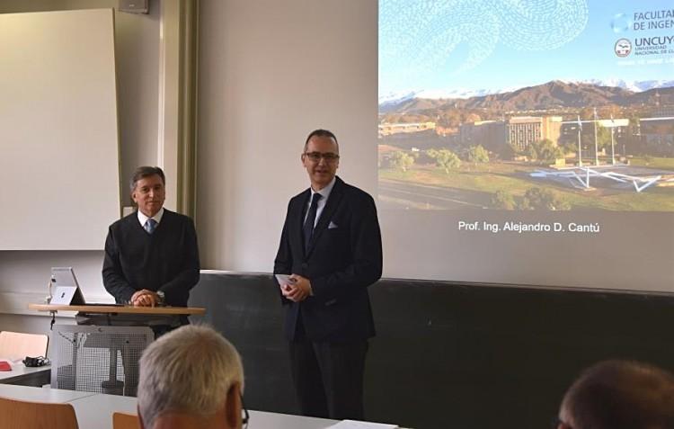 Se avanzó en programas de intercambio e investigación con Universidades Alemanas