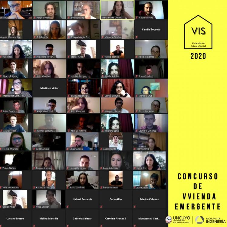 Reconocieron a estudiantes de arquitectura por el diseño de viviendas emergentes