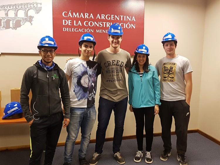 Estudiantes de Civil realizaron estancias en empresas constructoras