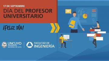 ¡Feliz día del Profesor Universitario!