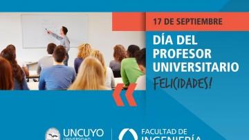 Feliz día del Profesor Universitario