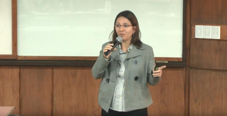 Compartimos la charla sobre reciclaje de destacada profesional de Brasil