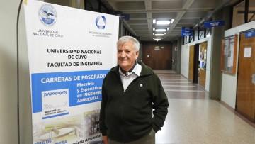 imagen que ilustra noticia Jorge Fuentes Berazategui es el nuevo Director de la Maestría y Especialización en Ingeniería Ambiental