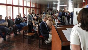 Se realizó acto homenaje a la memoria del Profesor Luis Guisasola