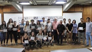 Entregaron certificados a estudiantes que participaron del Taller Virtual en Red Arquisur
