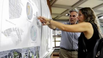 Estudiantes de arquitectura presentaron sus proyectos para el ex Aeroparque