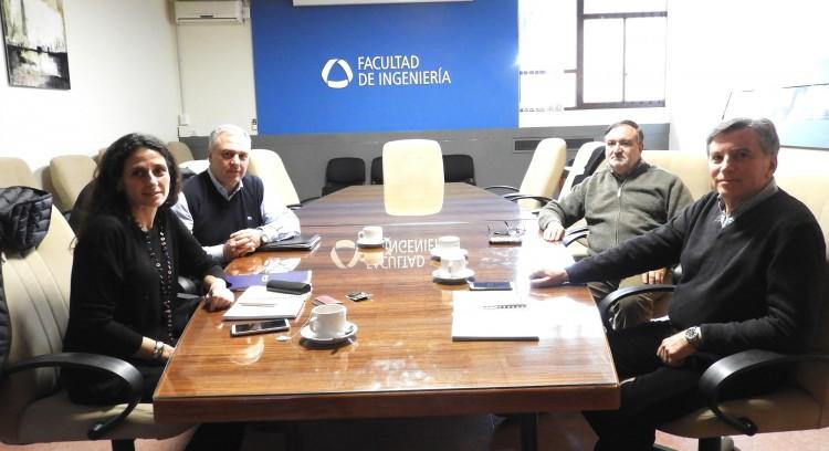 Directora del Centro Universitario Argentino-Alemán visitó la Facultad