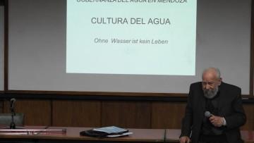El Ingeniero Espinosa brindó una conferencia sobre la Cultura del agua