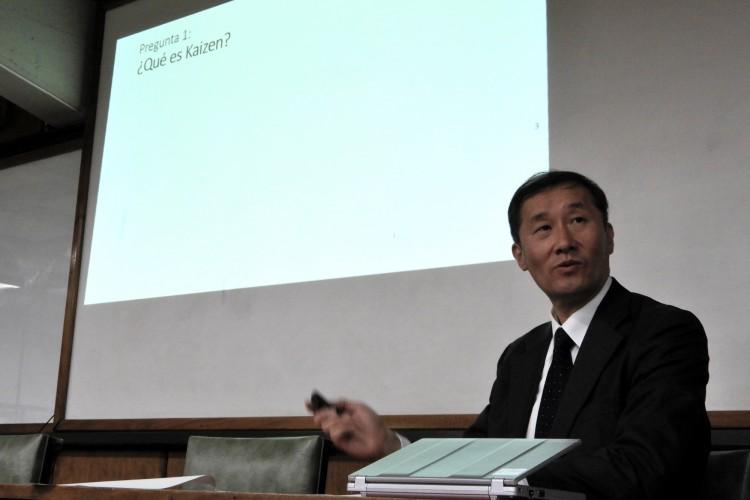 Experto japonés presentó programa para la mejora de la productividad en las organizaciones