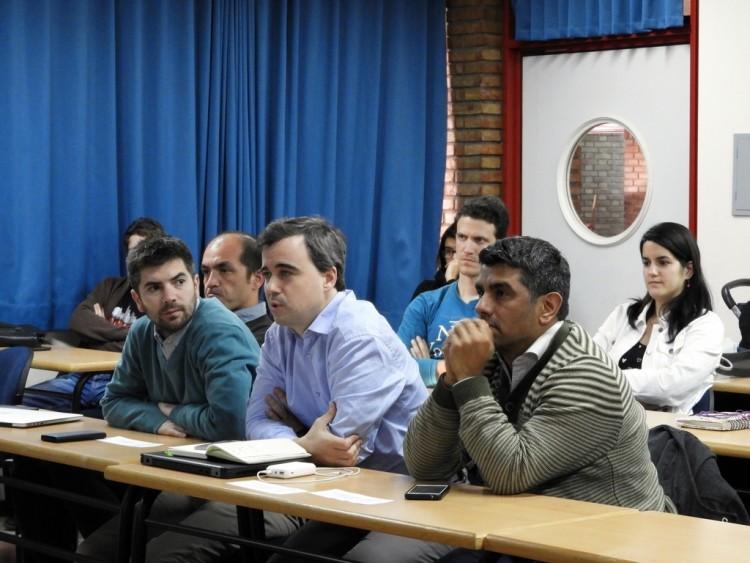 Investigadores de la Facultad se reunieron con representantes de importante empresa de tecnología