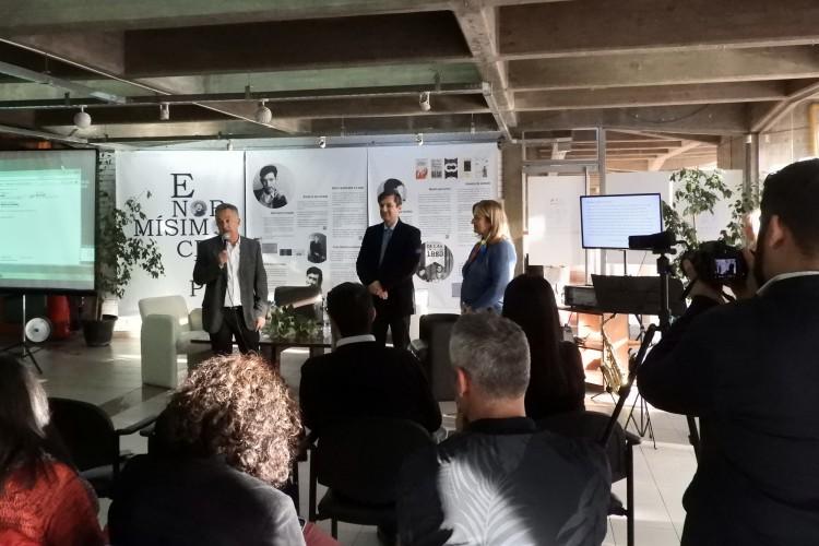 El director de Arquitectura, Emilio Piñeiro, participó del acto de apertura junto a la Decana de Ciencias Políticas, Claudia García; y el Vicedecano de Filosofía y Letras, Gustavo Zonana