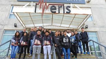 Alumnos de colegios técnicos visitaron la Facultad