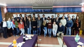 Autoridades de la Facultad dieron la bienvenida a estudiantes extranjeros
