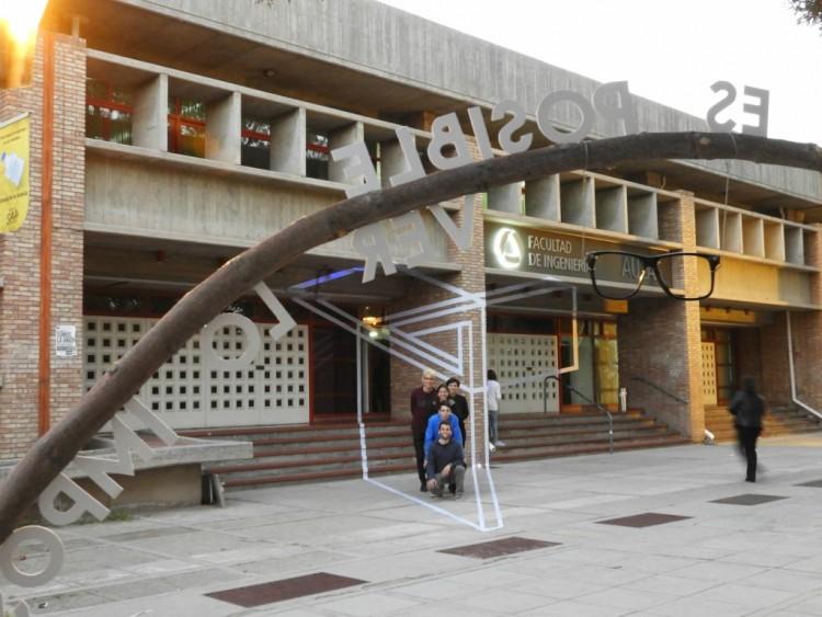 Estudiantes de Arquitectura realizaron intervenciones en espacios de la Facultad