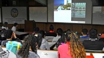 Estudiantes participaron de videoconferencia sobre restauración de edificios históricos
