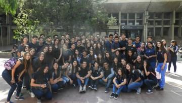 Alumnos de colegio de San Martín visitaron la Facultad