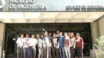 Estudiantes de colegio técnico de San Rafael visitaron la Facultad