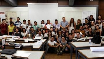 Estudiantes presentaron propuestas habitacionales a vecinos de El Pastal