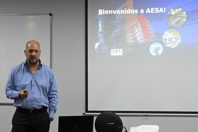 Representantes de AESA brindaron seminario sobre Petróleo y Gas