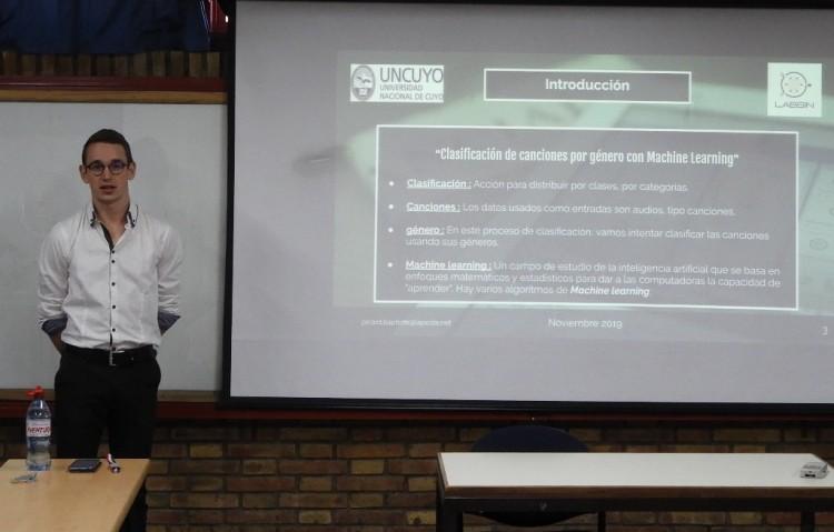 Estudiante de Francia presentó Proyecto Final de Ingeniería en Mecatrónica