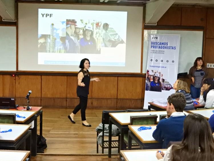 Se realizaron las Jornadas Universitarias YPF en Mendoza
