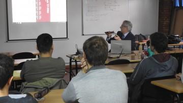 Se trató la Instrumentación Virtual y Adquisición Electrónica de Datos en un seminario