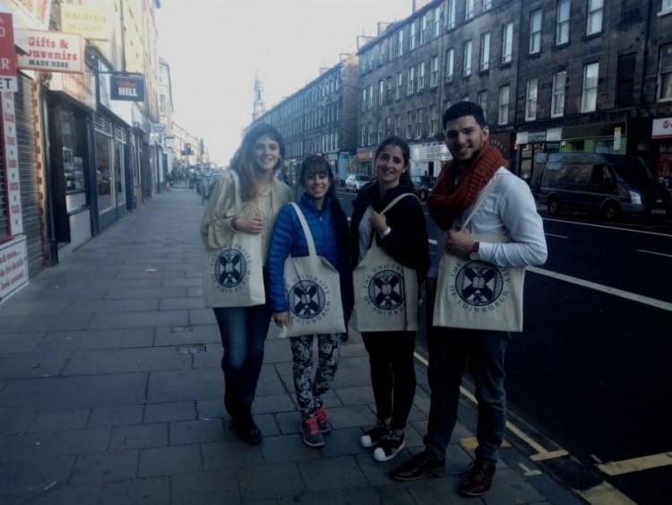 Estudiante de nuestra Facultad participa de debate sobre ciudades inteligentes en Escocia
