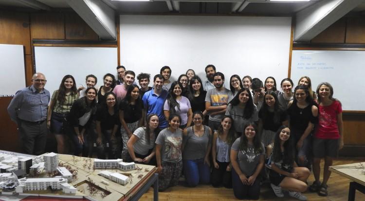 Estudiantes presentaron propuestas de mejoras urbanas en terrenos de Godoy Cruz