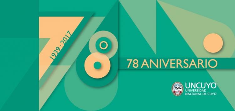 La UNCUYO celebra 78 años