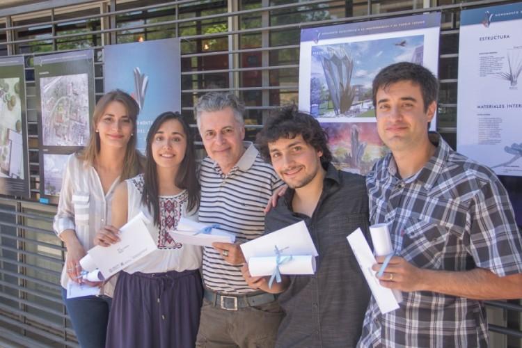 Profesores de la Facultad ganaron concurso de Monumento Escultórico que se construirá en la UNCUYO