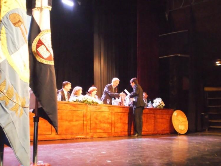 Colación de Grado y Posgrado Promoción 2015