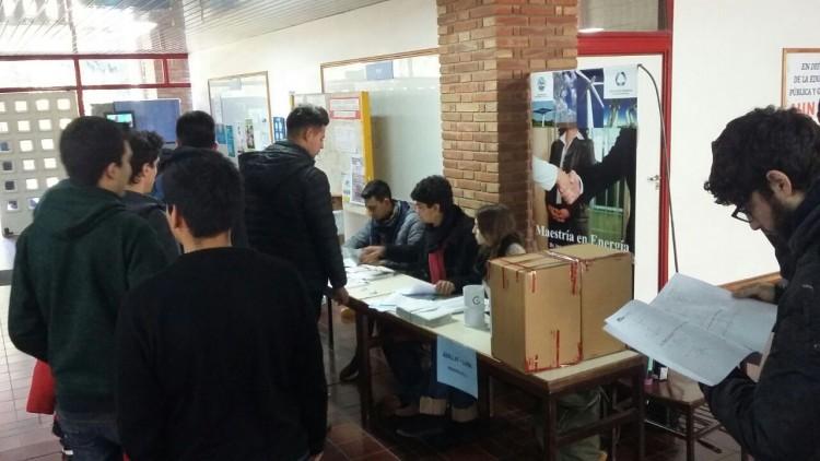 Se realizaron las elecciones de Centro de Estudiantes de la Facultad de Ingeniería