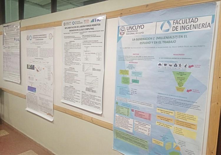 Exposición de pósters de Investigadores de la Facultad