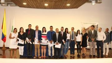 Ingenieros colombianos recibieron doble título de la UNCUYO