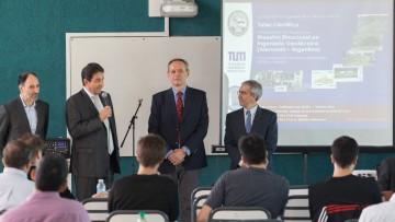 Se presentó proyecto de Maestría Binacional en Ingeniería Geotécnica