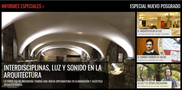 Informe Especial sobre la Iluminación y Acústica Arquitectónica