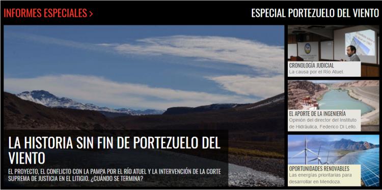 Informe especial sobre Portezuelo del Viento